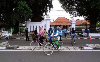 Sepeda Bersama ke Musium Sonobodoyo Yogyakarta