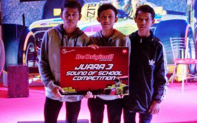 JUARA 3 KFC SOUND OF SCHOOL COMPETITION 2016