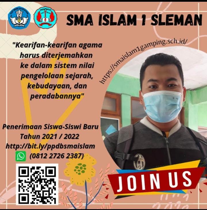 PPDB SMA ISLAM 1 SLEMAN 2021